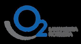 Logomarca O2 Lavanderia Hoteleira horiz