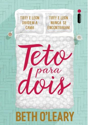 capa do livro teto para dois