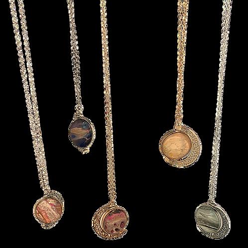 Necklace - Moon Pendant