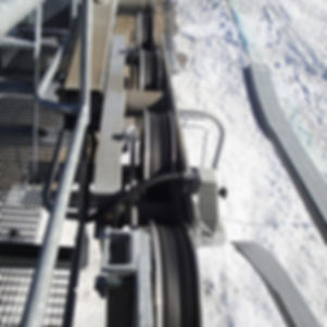 ski resort chairlift sheave assembly