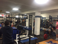 last day of old weight room