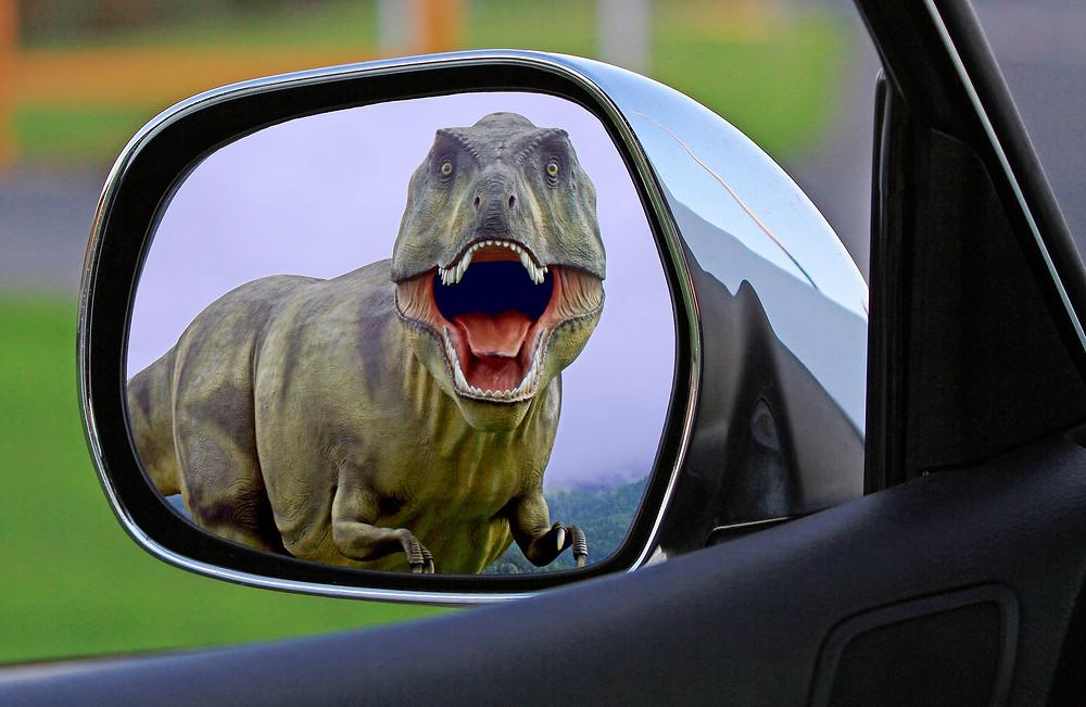 Sales dinosaur