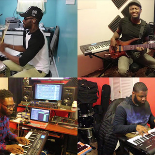 Romantic Live Arrangement featuring OlaYinka - New Wave Band