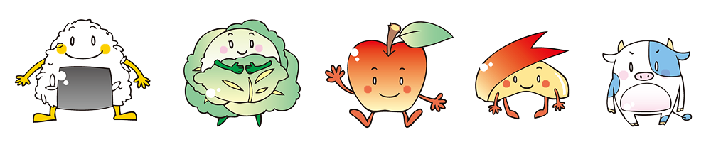 農林水産キャラクター1