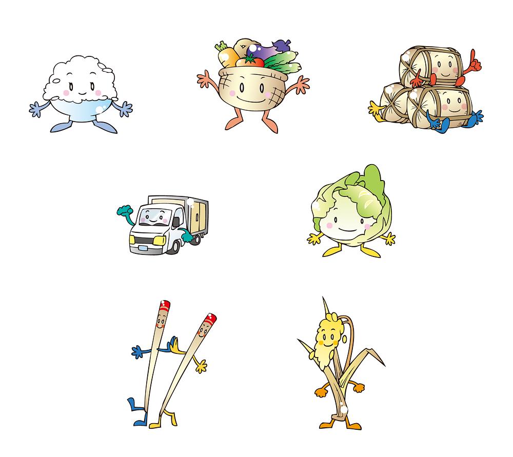農林水産キャラクター2