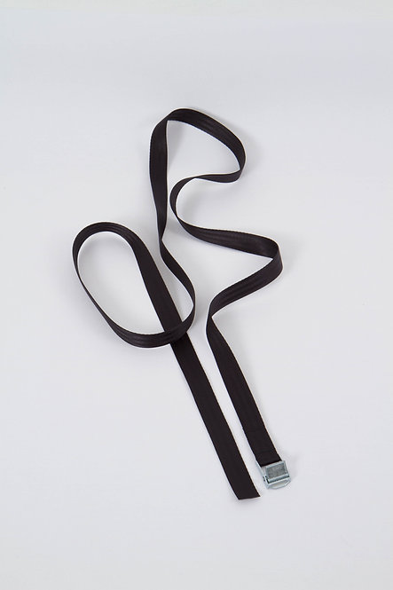 Long Seatbelt Belt Black