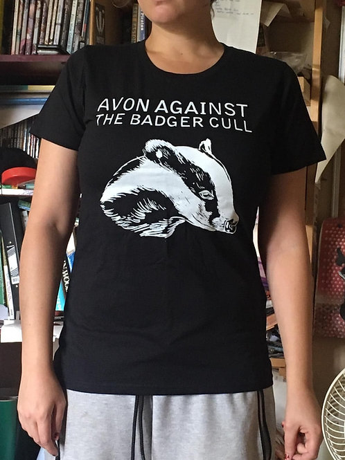 Avon Against the Badger Cull t-shirt