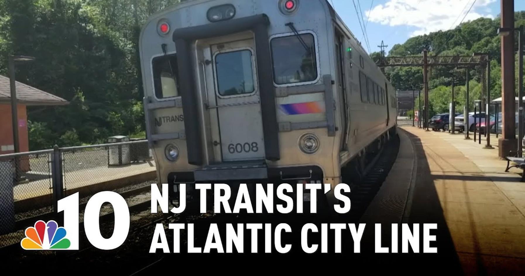 NJ Transit's Atlantic City Line: Off the Rails, Destination Unknown
