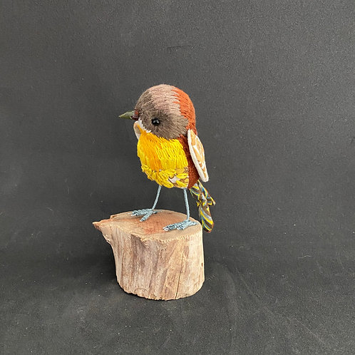 Reserved for Louise -Yellow Robin