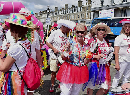 Pride 2019 - Back to lead the Worthing Parade