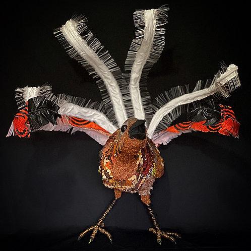 Large Lyrebird Sculpture
