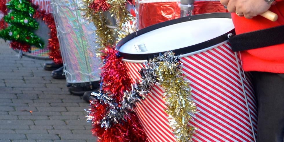 Littlehampton town Christmas drum