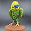 Thumbnail: Green budgie