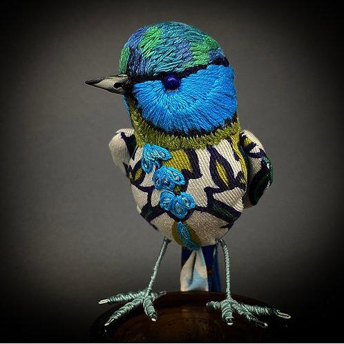 Blue Madeup Bird