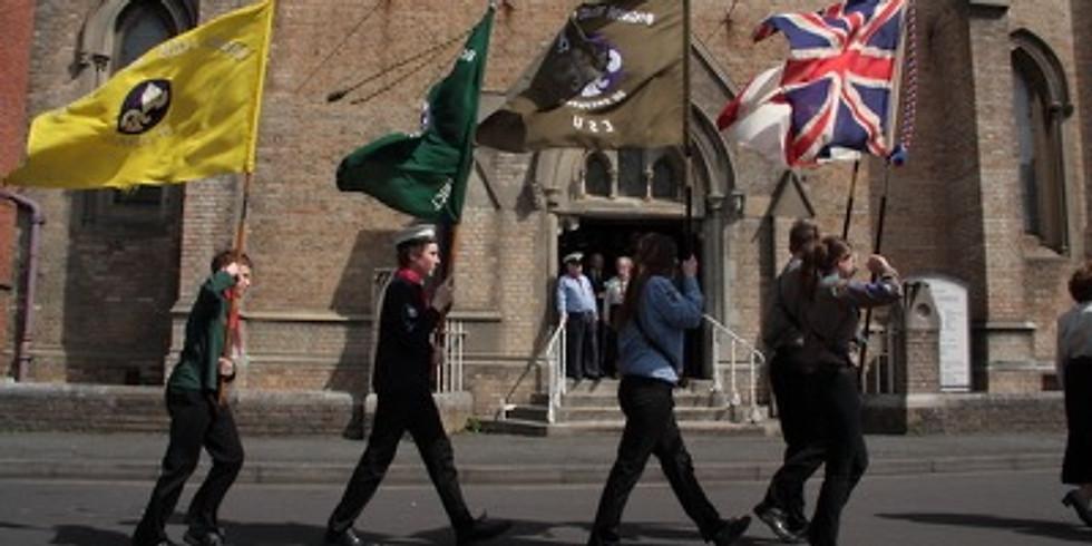 Bognor Regis District Scouts St Georges Day Parade 2019