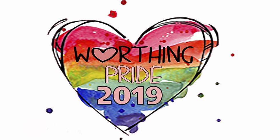 "Worthing "" pride "" procession - 2019"