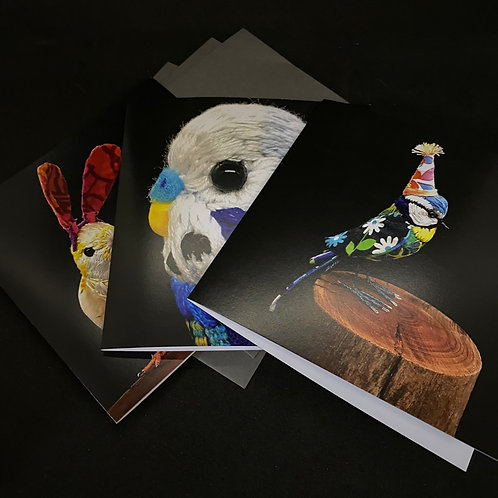 Pack of 3 Greetings Cards