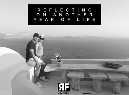 Reflecting on Another Year of Life