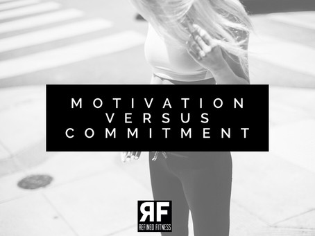 Motivation Versus Commitment