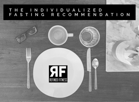 The Individualized Fasting Recommendation