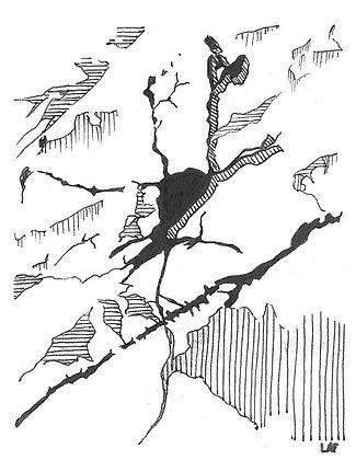 "Print de ""Neurona estrellada"""