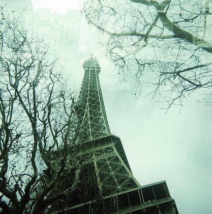 Foto 120film. Tour Eiffel