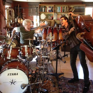 "With Stewart Copeland tracking ""HD"""