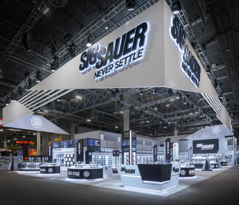 Sig Sauer at Shot Show 2019