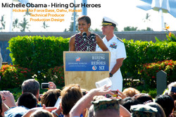 Michelle Obama - Hiring Our Heroes