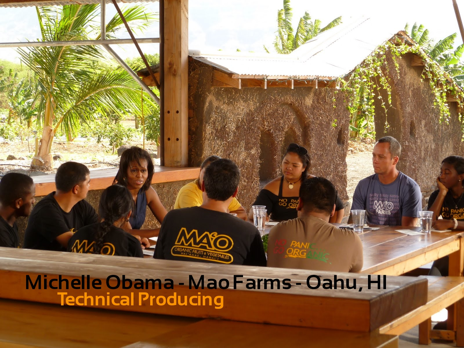 Michelle Obama - Mao Farms, HI
