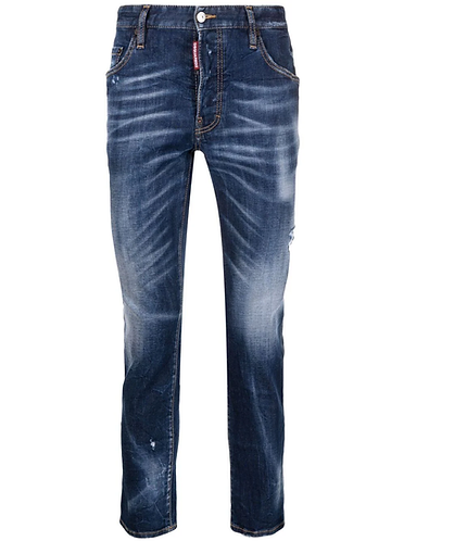 JEAN DSQUARED2 Dark SS Fade Wash Skater Jeans S71LB0941S30685470