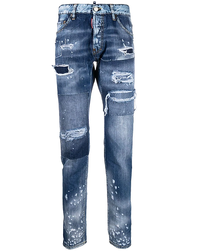 jeans dsquared2 Ripped Wash Cool Guy Jeans S71LB0914S30309470