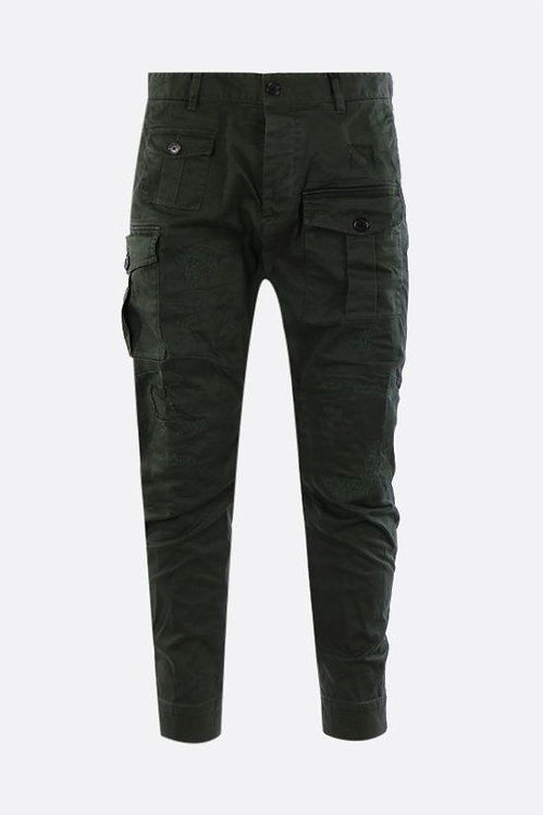 dsquared2 Cotton Twill Sexy Cargo Trousers S74KB0537S39021632