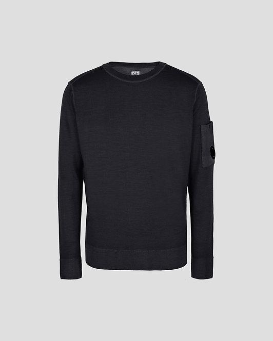 Merino Wool Crew Neck Knit