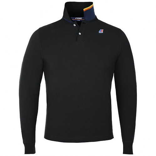 POLO KWAY ROCHEL STRETCH NOIR K008JB0