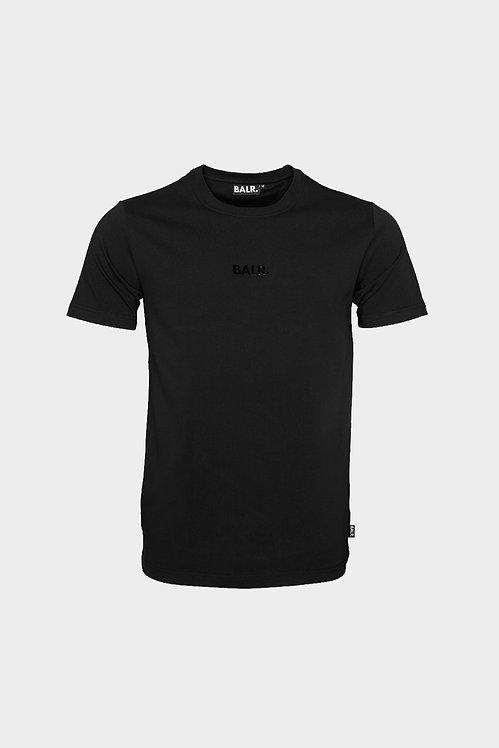 tshirt balr BL CLASSIC STRAIGHT T-SHIRT MEN BLACK b1000.3222