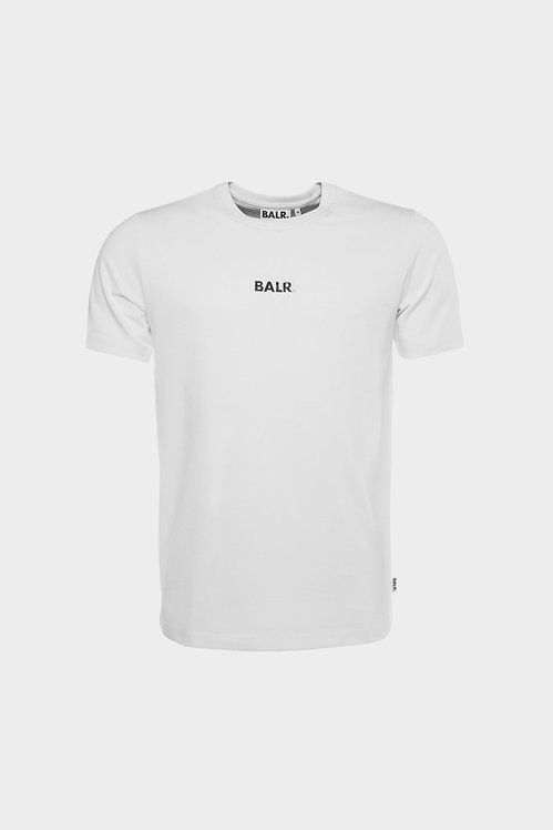 tshirt balr BL CLASSIC STRAIGHT T-SHIRT MEN WHITE b1000.3222