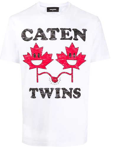 T-shirt Caten Twins DSQUARED2 S74GD0744S22844100