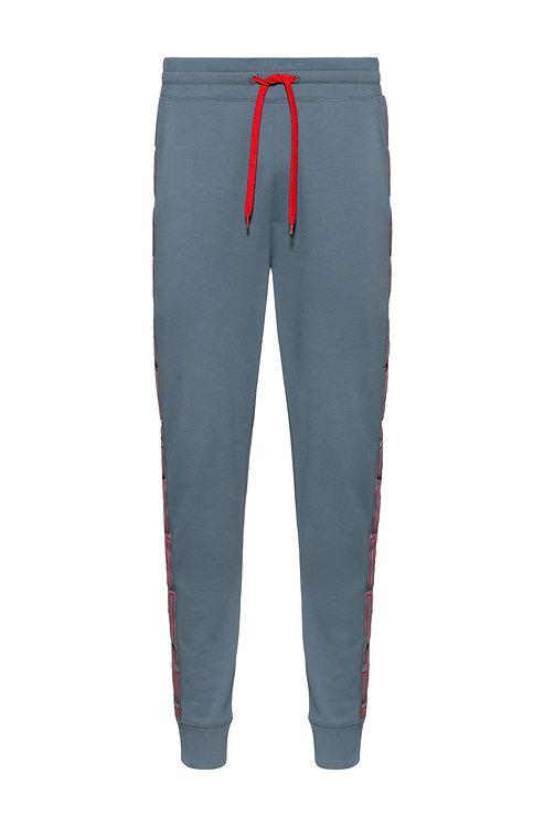 JOGGING HUGO Pantalon de survêtement en coton interlock avec bandes logo latérales Modèle Daky203 - 50432341