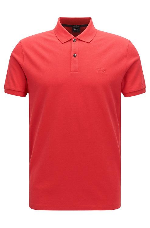 HUGO BOSS Polo Regular Fit en piqué de coton Pima Modèle Pallas - 50425985