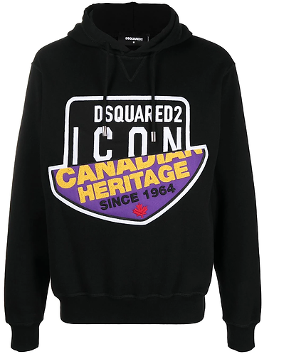 dsquared2 Canadian Icon Hooded Sweatshirt S79GU0021S25042900
