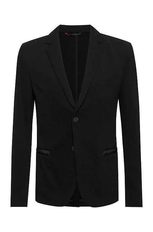 veste hugo Veste Extra Slim Fit avec détails contrastants ton sur ton MODÈLE AGALTUS213J1 - 50453429