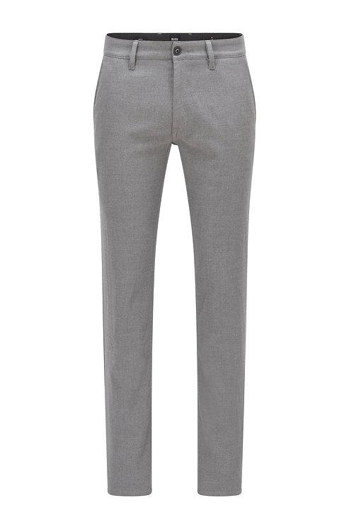 PANTALON CHINO HUGO BOSS MODÈLE SCHINO-SLIM - 50458132 Pantalon Slim Fit en flanelle stretch brossée