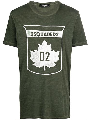 tshirt dsquared2 Dsquared2 Leaf T - Shirt s74gd0866s22146703