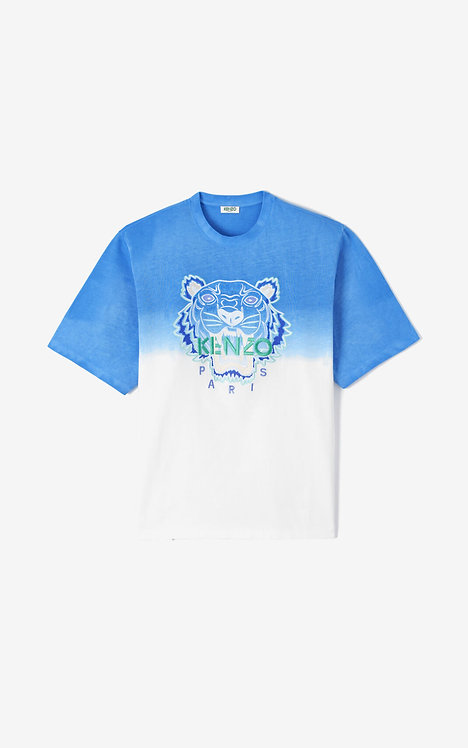 kenzo T-shirt dégradé Tigre FA55TS5014YG.65.L