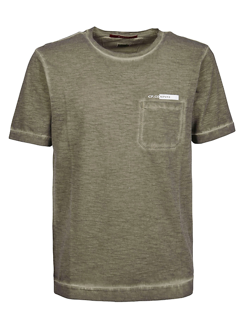 cp company t-shirt lavé 10CMTS258A005433S