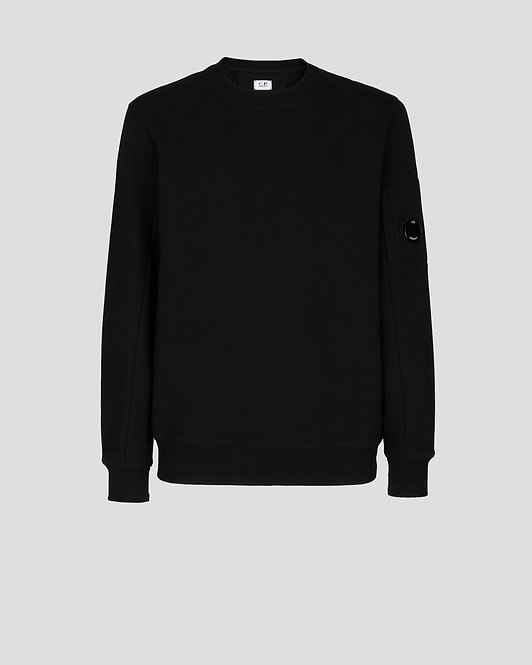 sweat cp company Diagonal Raised Fleece Sweatshirt 11CMSS055A005086W999
