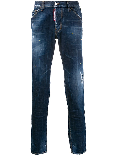 dsquared2 Yellow Spots Broken Cool Guy Jeans S71LB0726S30342470