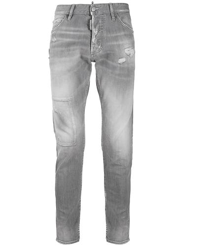 dsquared2 Grey Denim Skinny Dan Jeans S74LB0694S30260852