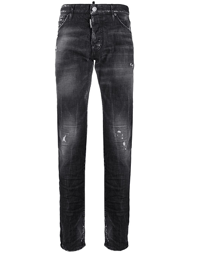 dsquared2 Black Denim Cool Guy Jeans S74LB0698S30357900